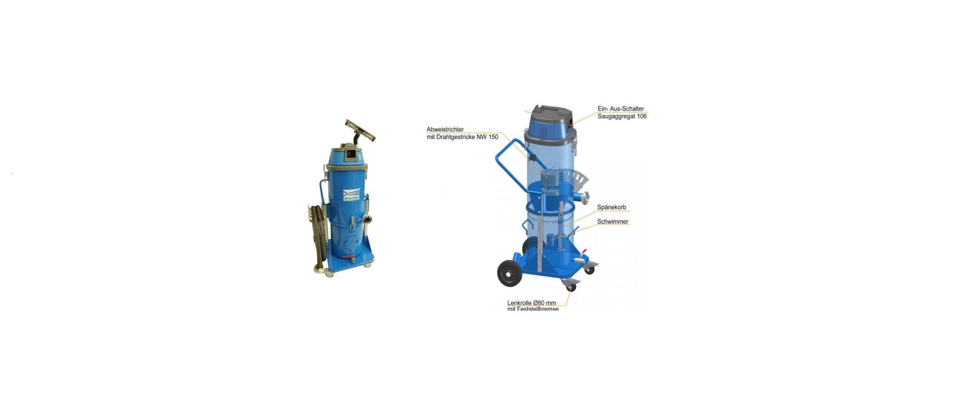 Elektrosauger DES 118–106-ChiLi