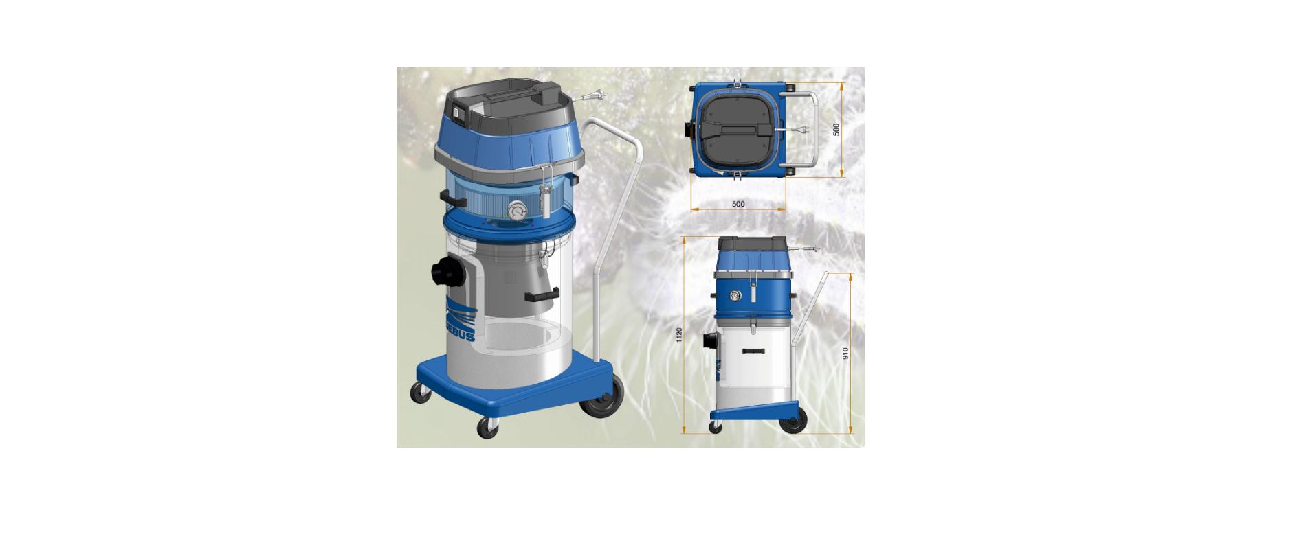 Elektrosauger DES 205 EPS H für Eichenprozessionsspinner